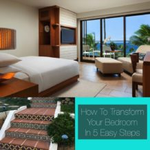 How To Transform Your Bedroom In 5 Easy Steps