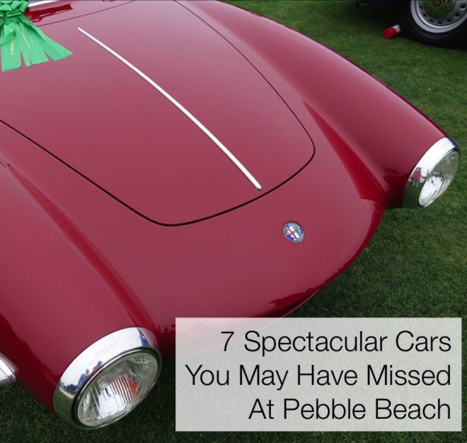 7 Spectacular Cars You May Have Missed At Pebble Beach