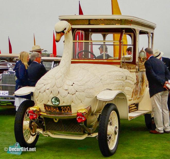 Louman Museum's Swan Car