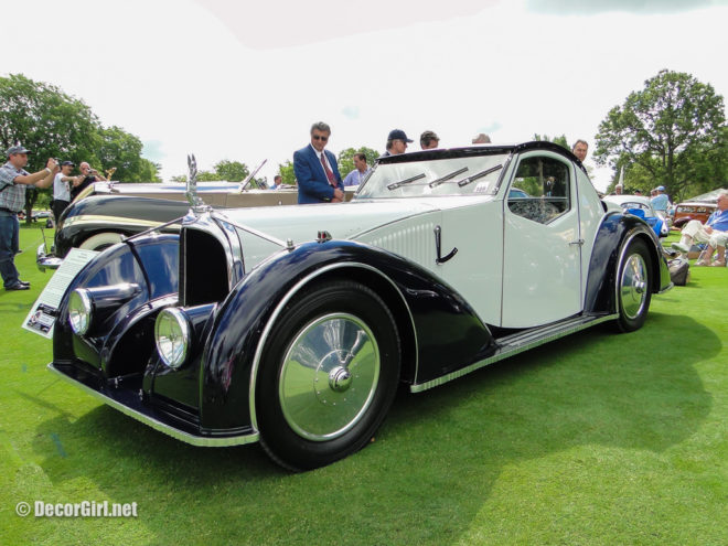 1934 Avion Voisin V27 Coupe Aerosport