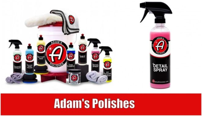 Adam's Polishes car car products