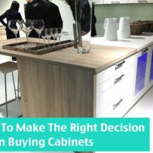 How to buy kitchen and bath cabinets