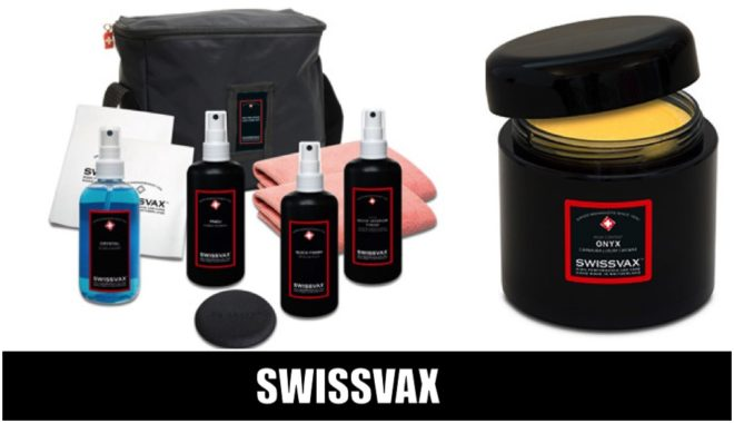 Swissvax car care products