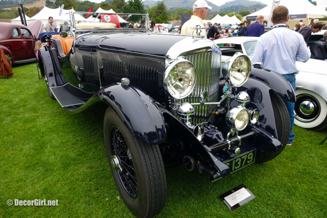 1932 Bentley 8 Litre at The Quail