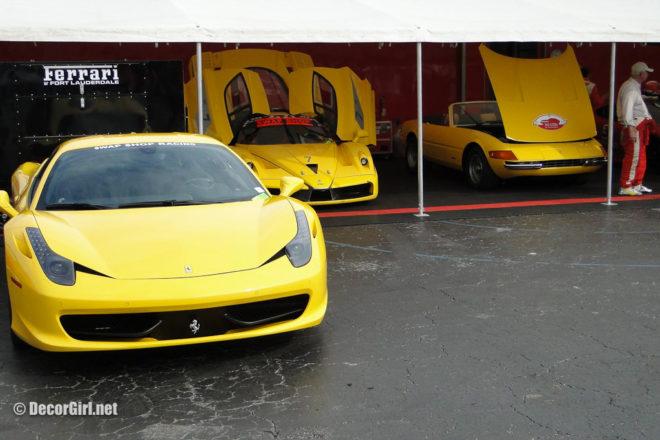 Preston Henn and his Ferraris