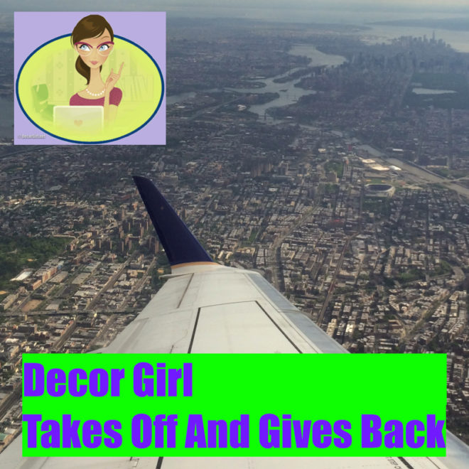 Decor Girl Takes Off And Gives Back