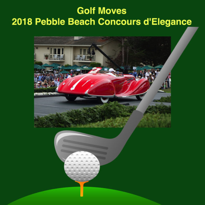 Golf schedule changes 2018 Pebble Beach Concours