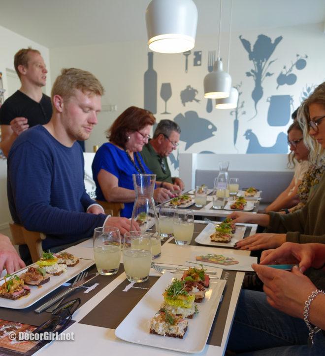 Aamanns Smørrebrød on Copenhagen Food Tour