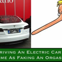 Is Driving An Electric Car The Same As Faking An Orgasm?