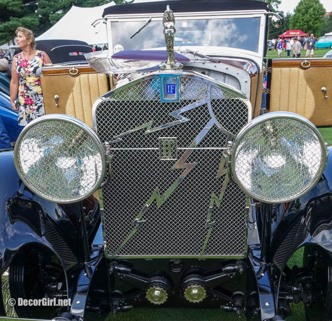 1928 Isotta Franschini TIPO 8 SS Rumble Seat Convertible Coupe by LeBaron