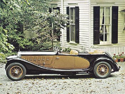 1933 lancia astura series 1 dual cowl sport phaeton by castagna