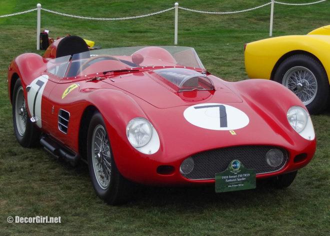 1959 Ferrari 250 TR59 Fantuzzi Spyder