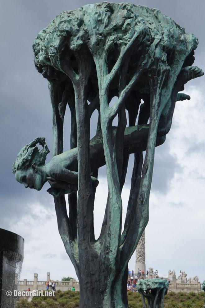 Bronze Girl Vigeland Park