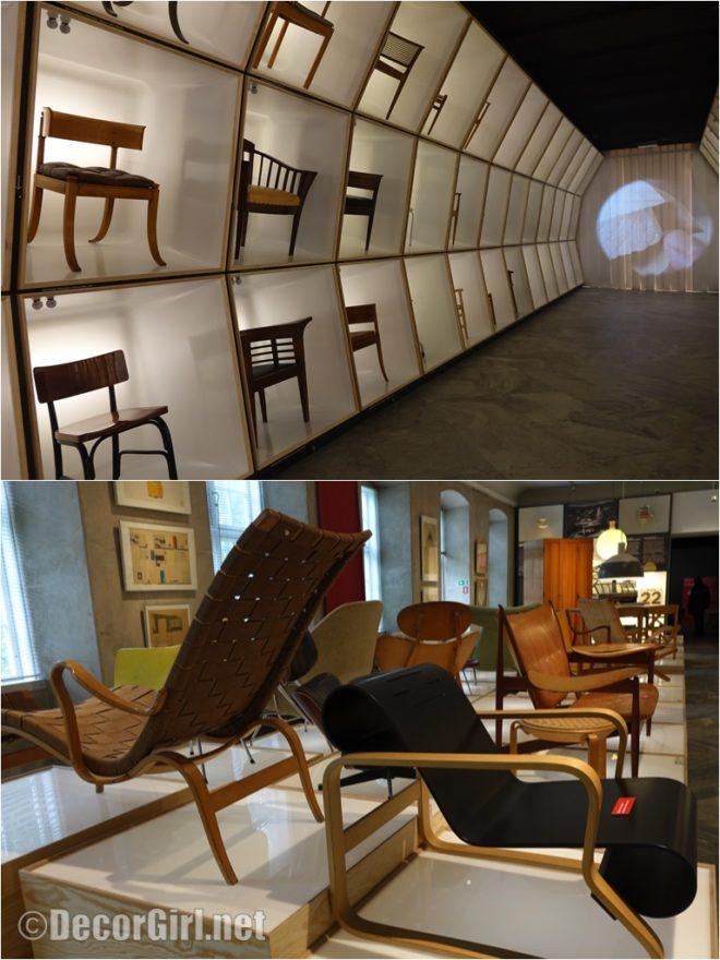 Chairs in Danish Design Museum