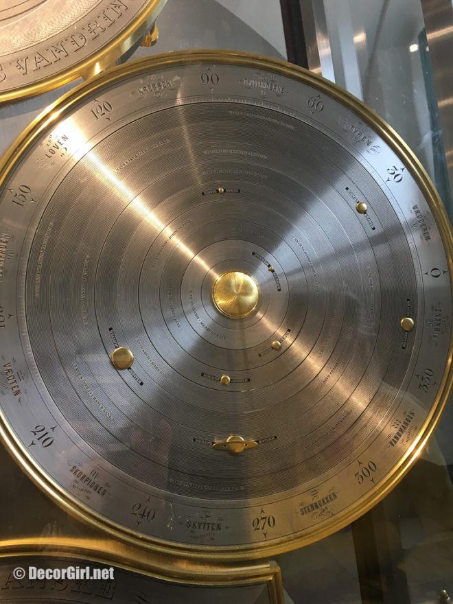 Jens Olsen's World Clock - planetary disc