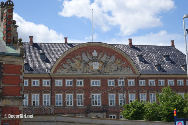 Ministry of Finance Building in Copenhagen