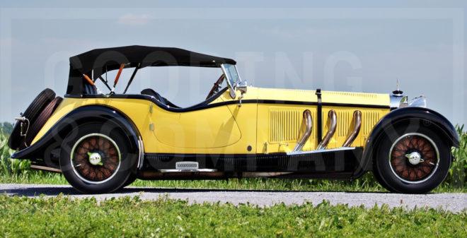 1928 Mercedes-Benz S-Type 26/180 Sports Tourer
