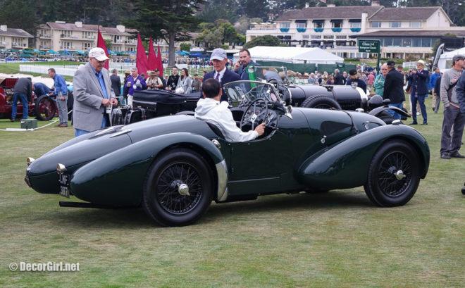 Rare aerodynamic Aston Martin