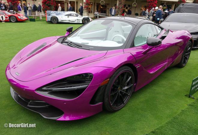Magenta Pink McLaren