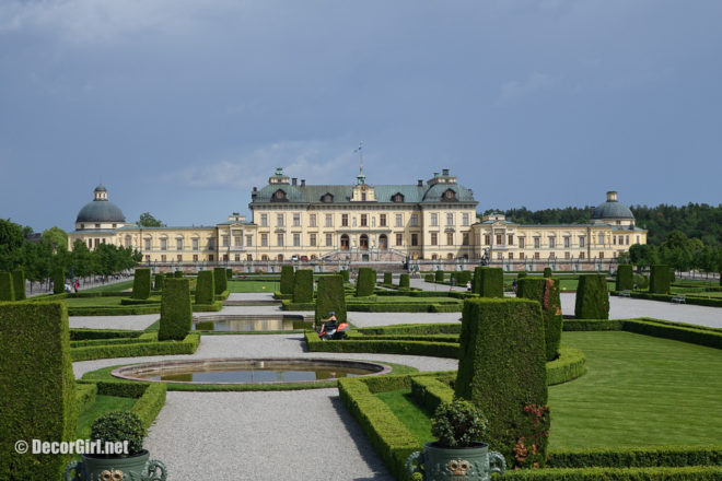 Front of Drottingholm Palace