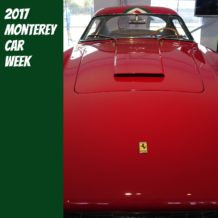 2017 Monterey Car Week Ferrari