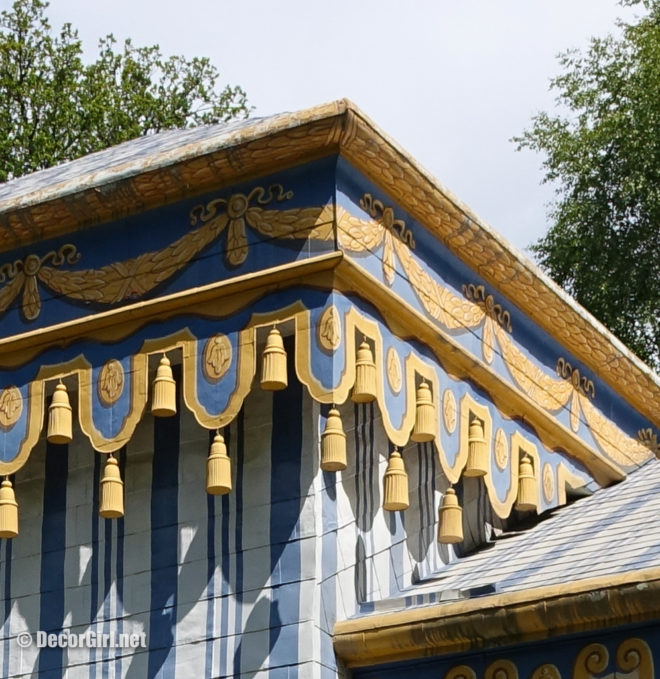 Detail of Guards Tent and Drottinghom
