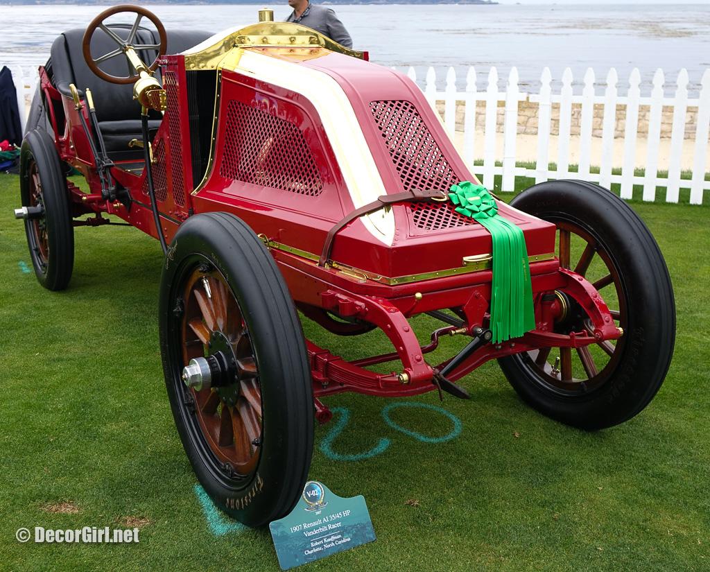 1907 Renault AI 35/45 HP Vanderbilt Racer at Pebble Beach