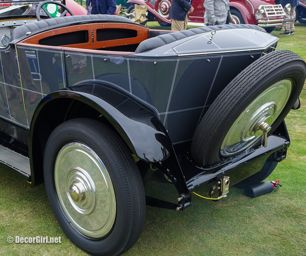 1924 Voisin C 4S Sport Tourisme disappearing top