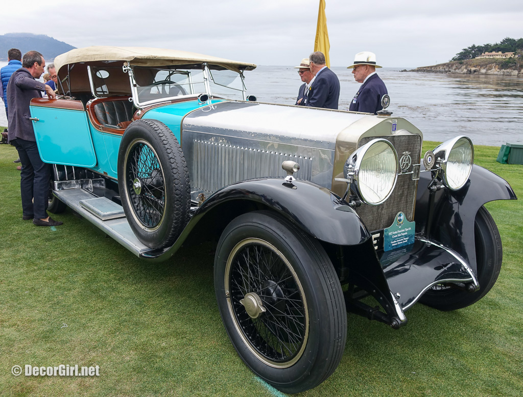 1927 Isotta Fraschini Tipo 8A at Pebble Beach