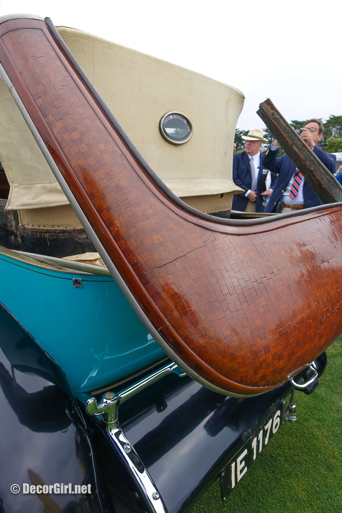 1927 Isotta Fraschini Tipo 8A rea deck parquet