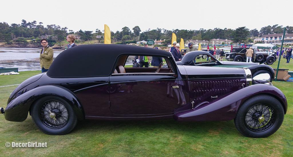 1936 Bugatti Type 57 Binder Coupe exterior