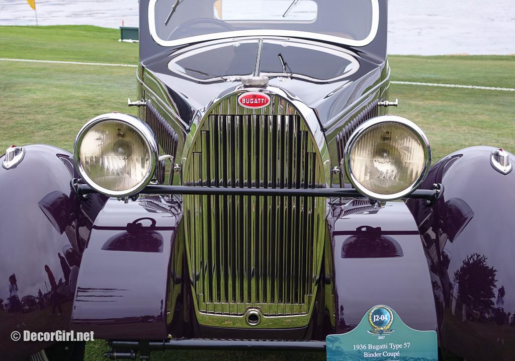 1936 Bugatti Type 57 Binder Coupe at Pebble Beach