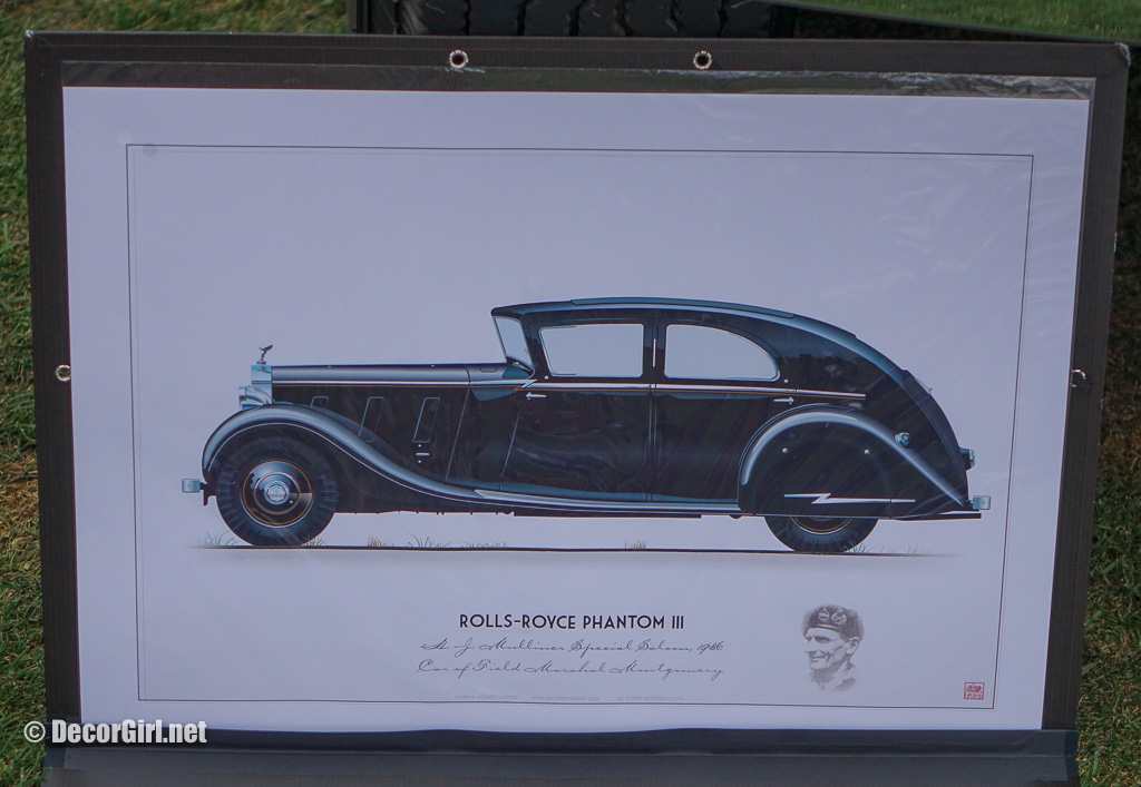 Artwork for 1936 Rolls-Royce Phantom III H. J.  Mulliner Sports Limousine
