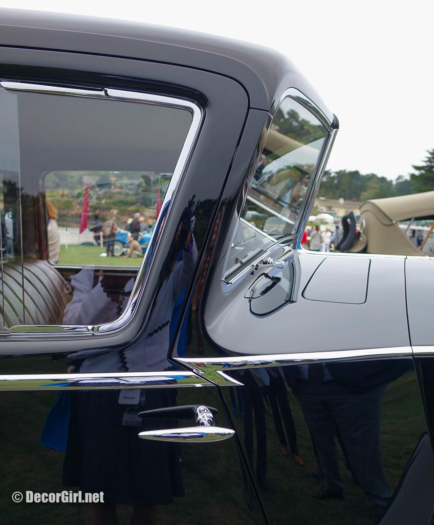 Windshield on 1936 Rolls-Royce Phantom III H. J.  Mulliner Sports Limousine