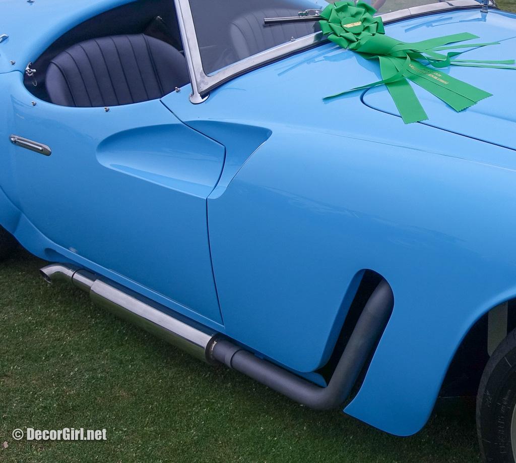1955 Moretti 1200S Michelotti Spyder at Pebble Beach