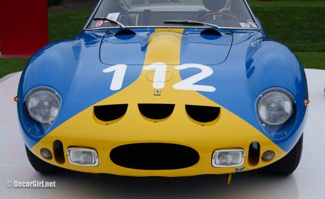 The Ferrari GTO in Swedish livery