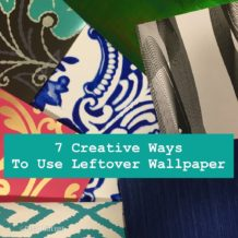 DIY Uses for Leftover Wallpaper