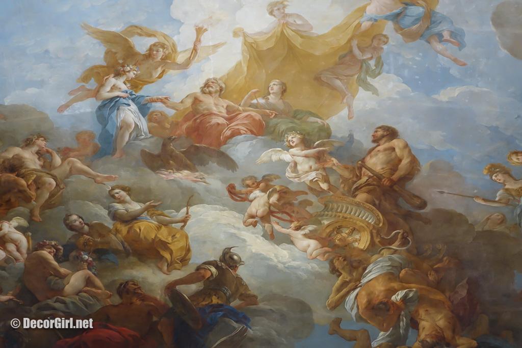 Ceiling of Hercules Room at Versailles