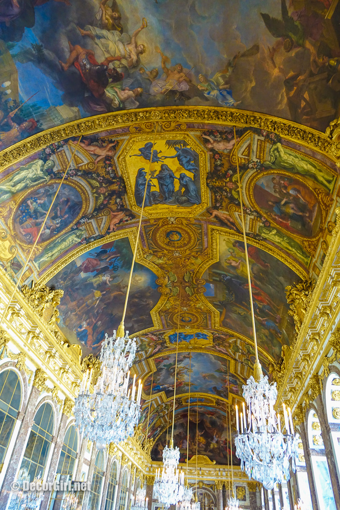 Ceiling in Hall of Mirrors