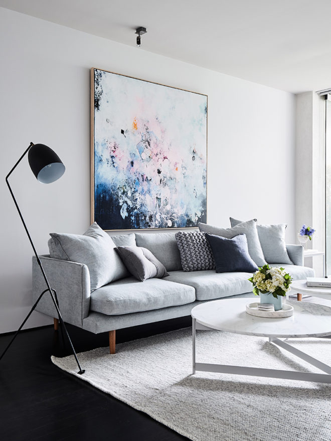Clean simple furnishings
