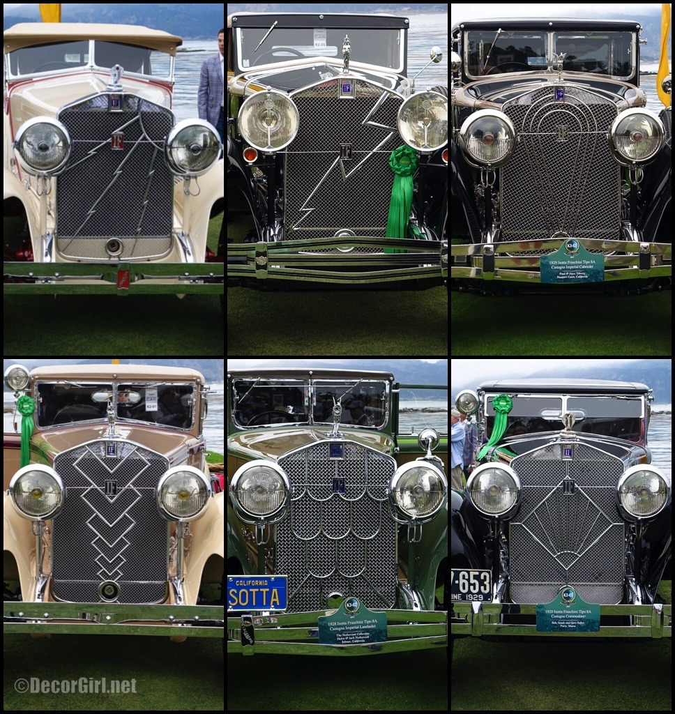Different Isotta Franschini Grilles