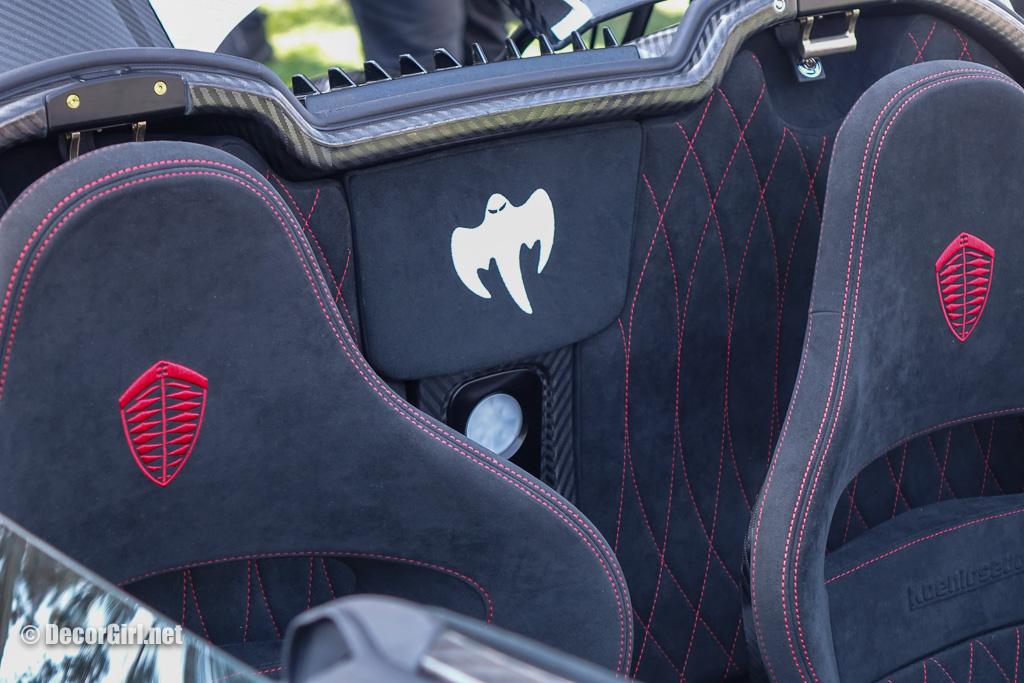 Koenigsegg CXX ghost package detail