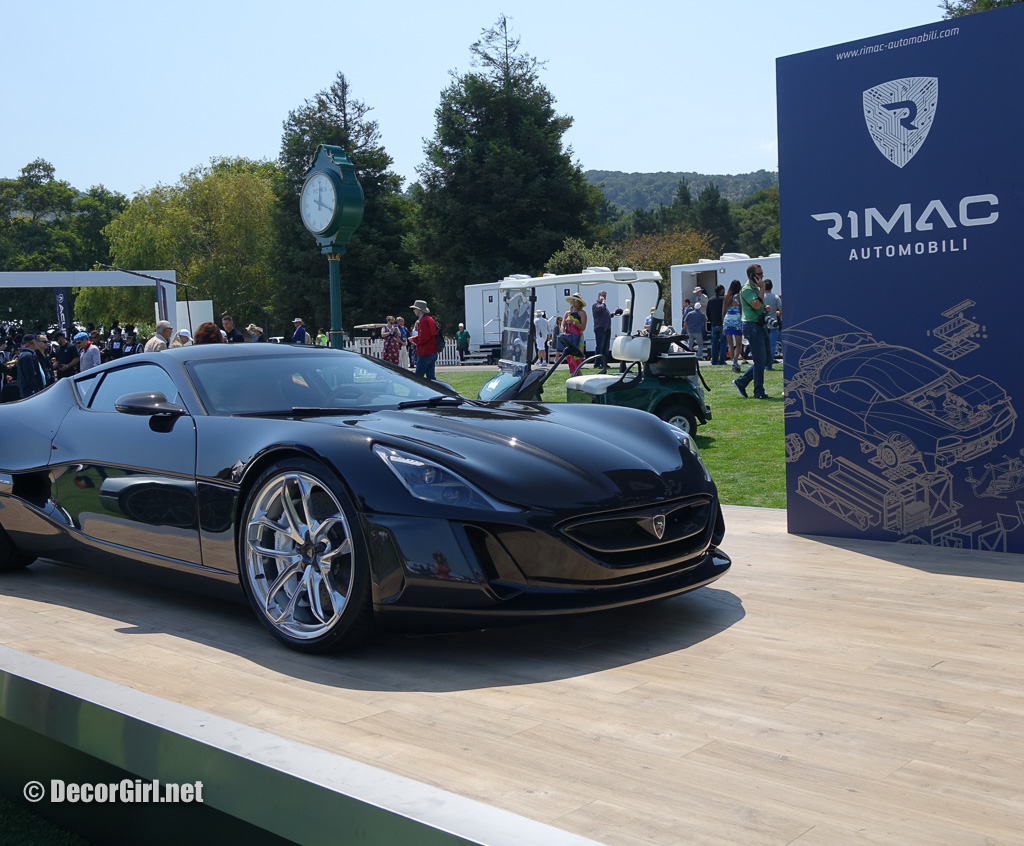 Rimac Automobili Concept at the Quail