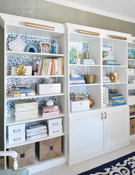 wallpaper bookcase