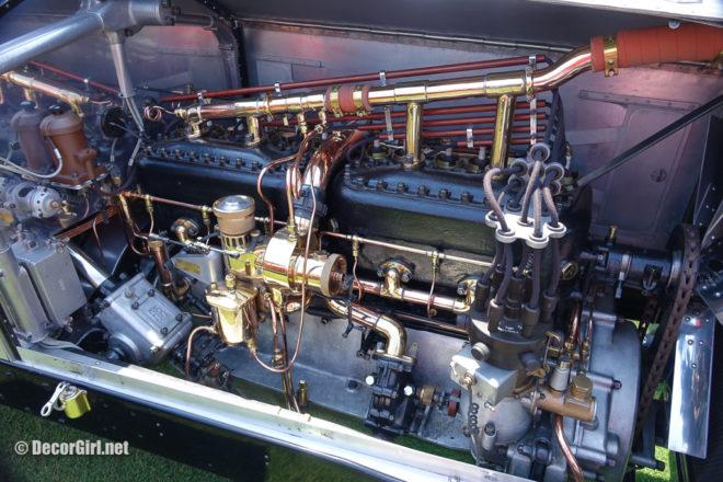1919 Rolls-Royce Silver Ghost Alpine Eagle engine