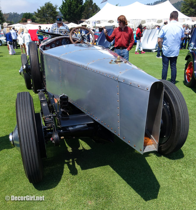 1919 Rolls-Royce Silver Ghost Alpine Eagle at The Quail rear