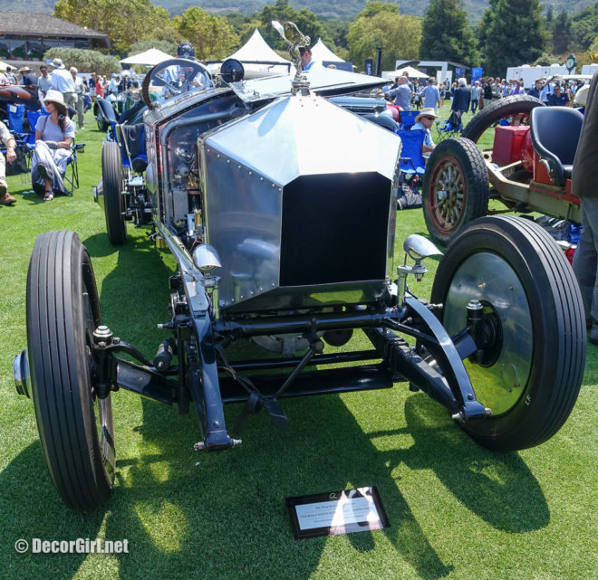 Rolls-Royce race car front at The Quail