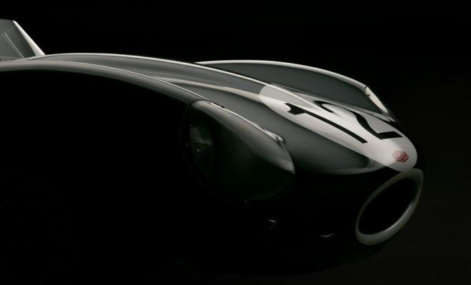 1957 Jaguar D-Type by Bill Pack