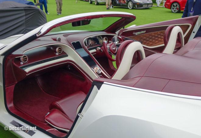 Bentley Motors Exp 12 Speed 6e interior