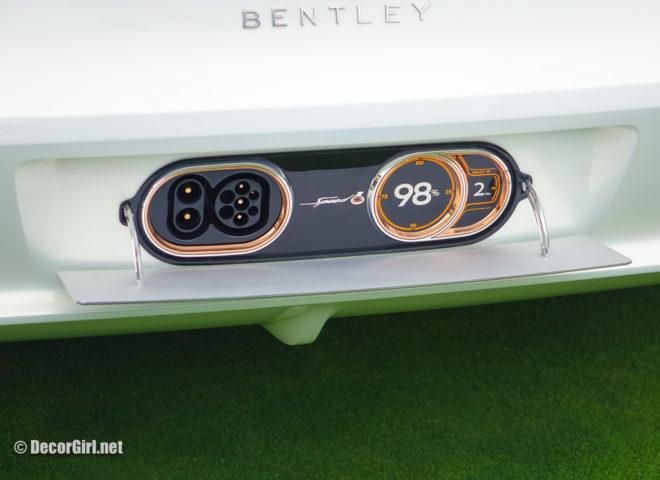 Bentley Motors Exp 12 Speed 6e charge port